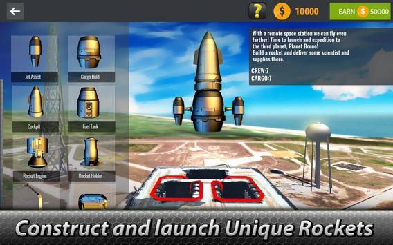 🚀 Space Launcher Simulator - build a spaceship! screenshot 1