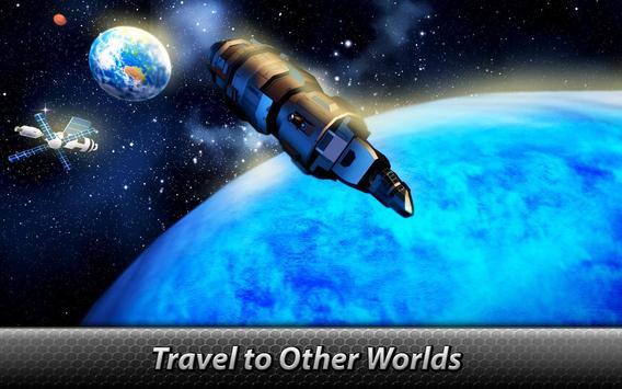 🚀 Space Launcher Simulator - build a spaceship! screenshot 3