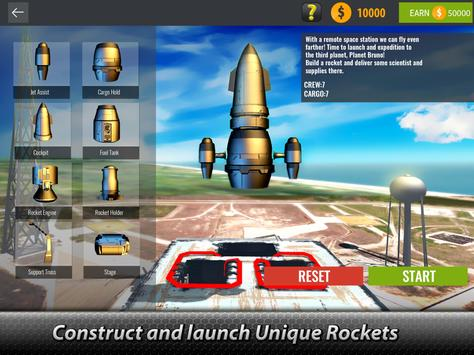 🚀 Space Launcher Simulator - build a spaceship! screenshot 5