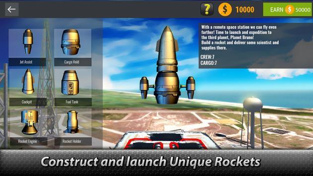 🚀 Space Launcher Simulator - build a spaceship! screenshot 9