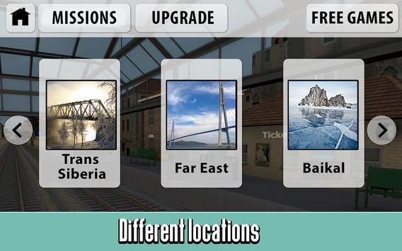 Russian Train Driver Simulator screenshot 3