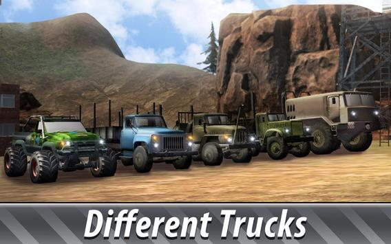 Russian Trucks Offroad 3D screenshot 5