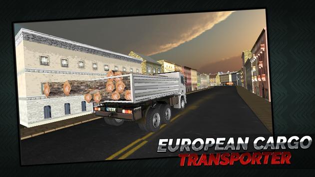 European Cargo Transporter apk screenshot