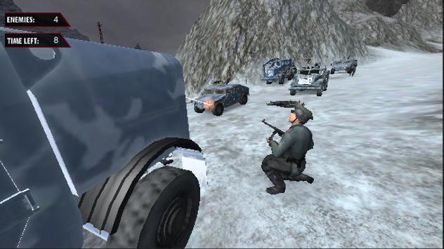 Sniper Thrill Warrior apk screenshot