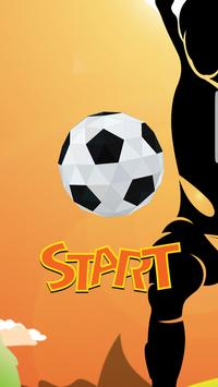 Flappy super ball - Flick Shoot pro poster