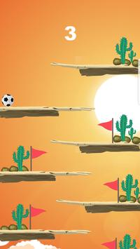 Flappy super ball - Flick Shoot pro apk screenshot