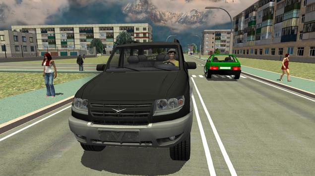 Real City Russian Car Driver screenshot 11