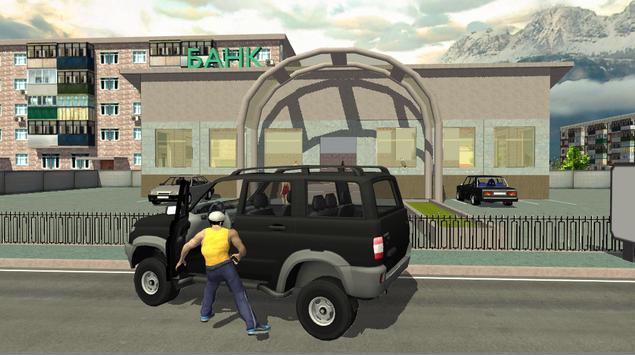 Real City Russian Car Driver screenshot 9
