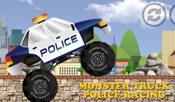 Police Monster Truck Racing apk screenshot