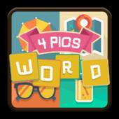 1 Kelime 4 Resim Oyunu icon