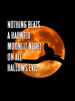 Halloween Quotes poster