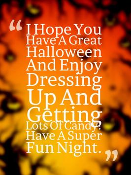 Halloween Quotes apk screenshot