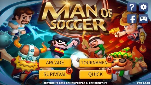 Man Of Soccer poster