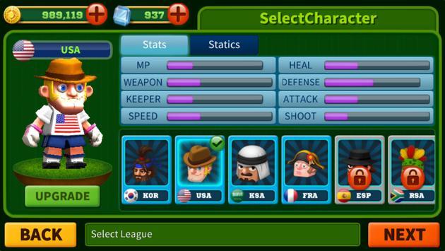 Man Of Soccer apk screenshot