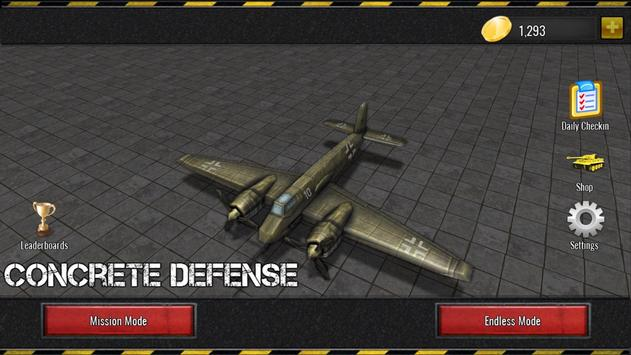 Concrete Defense 1940: WWII Tower Siege Game apk screenshot