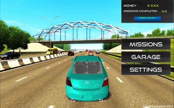 Accord Driving Simulator 2017 apk screenshot