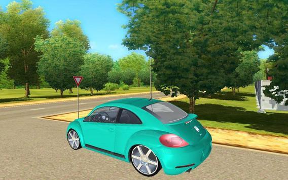 City Beetle Driving Sim 2017 poster
