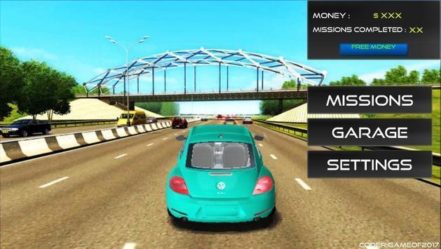 City Beetle Driving Sim 2017 apk screenshot