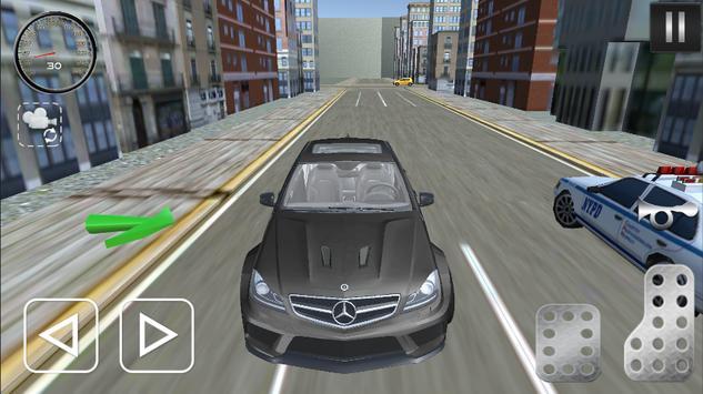 C 200 & C 180 Driving Sim 2017 apk screenshot
