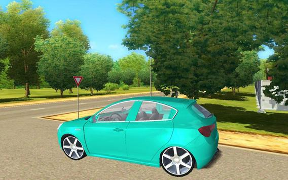 City Giuletta Driving Sim 2017 poster