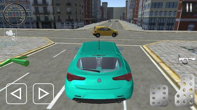 City Giuletta Driving Sim 2017 apk screenshot