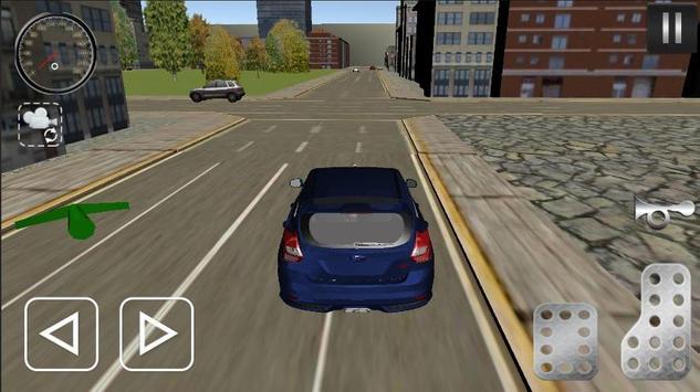 Fiesta Driving Simulator screenshot 2