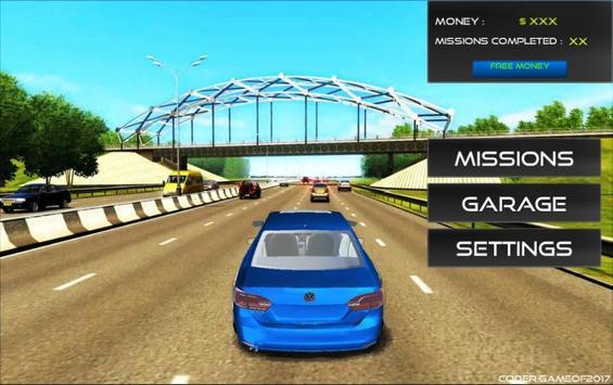 City Jetta Driving Sim 2017 apk screenshot
