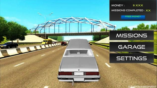 City Limousine Driving Sim2017 apk screenshot