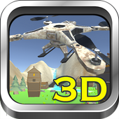 Game of Drones 3D icon