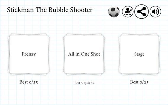 Stickman The Bubble Shooter apk screenshot