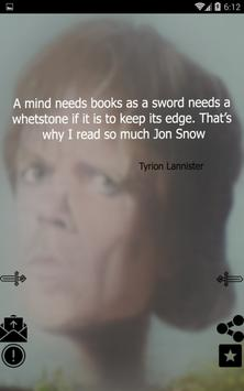 Game of Thrones Quotes screenshot 2