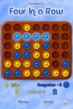 Four In a Row - Connect Four in a Line and Win! screenshot 4