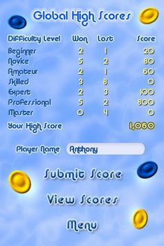 Four In a Row - Connect Four in a Line and Win! screenshot 2