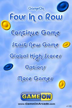 Four In a Row - Connect Four in a Line and Win! screenshot 3