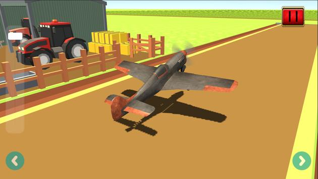 Farm Airplane Flight Simulator screenshot 1