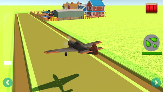 Farm Airplane Flight Simulator screenshot 2