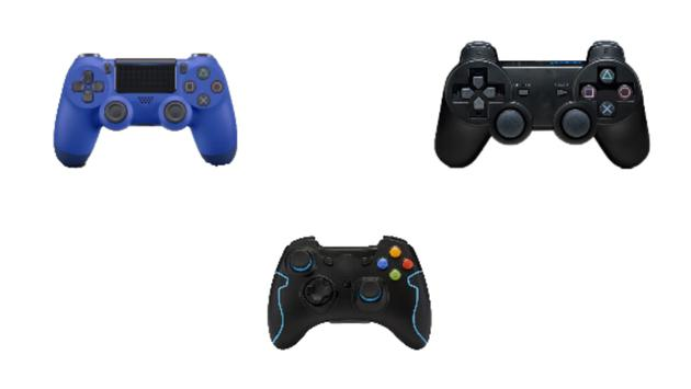 Poster mobile gamepad for PS3 PS4 PC