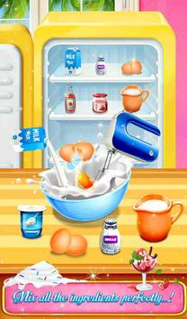 Icy Rainbow Rose Ice Cream Making Adventure screenshot 5
