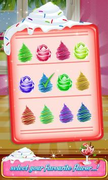 Icy Rainbow Rose Ice Cream Making Adventure screenshot 10