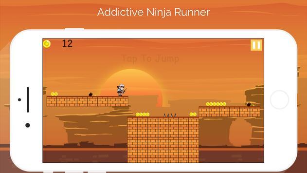 Ninja Runner - Ninja Adventure Games poster