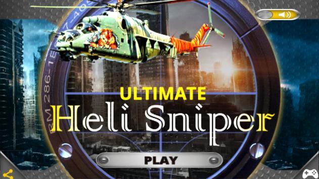 Ultimate Heli Sniper poster