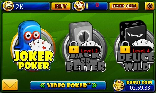 Video Poker™-Poker Casino Game poster