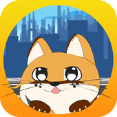 Kitty Cat and the City: Cute Virtual Pet Mania icon