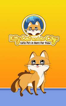Kitty Cat and the City: Cute Virtual Pet Mania poster