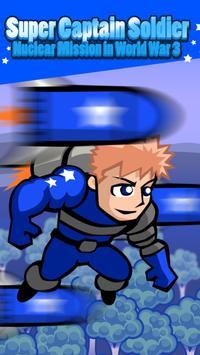 Super Captain Soldier: Defend America at World War poster