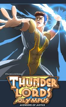 THUNDER LORDS OLYMPUS: Gods of Storm Force Legends poster