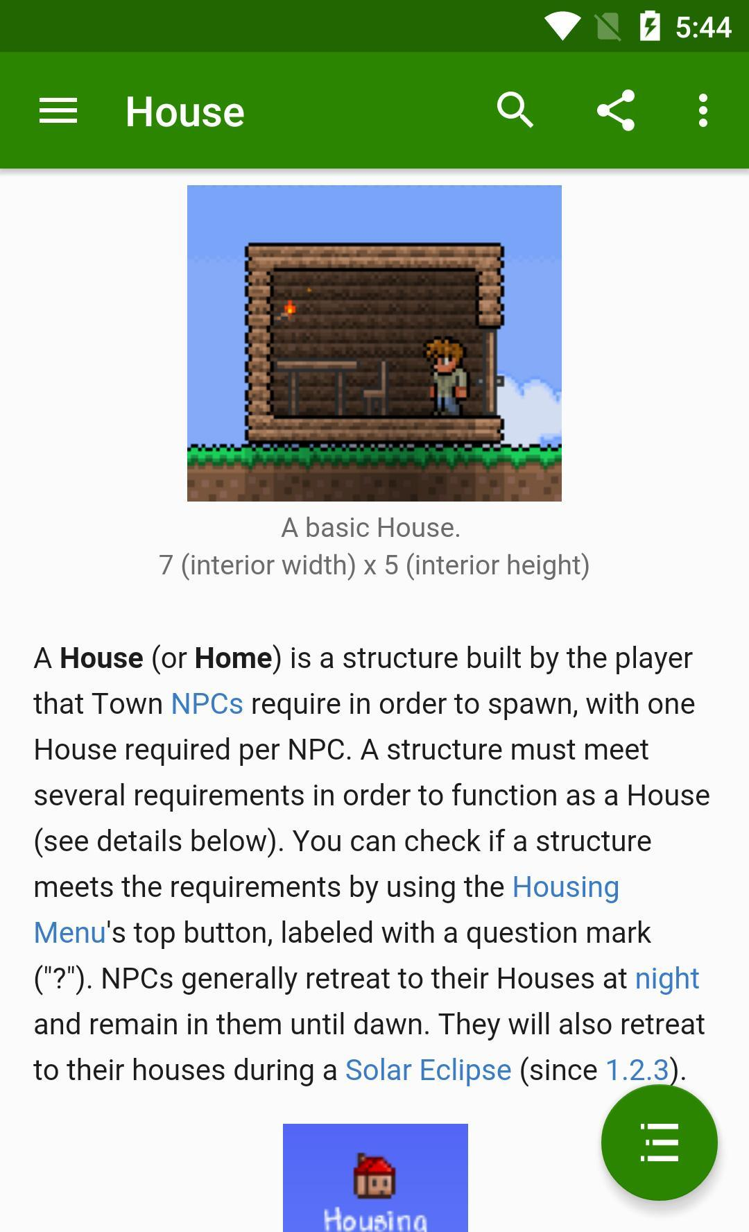 Official Terraria Wiki for Android - APK Download