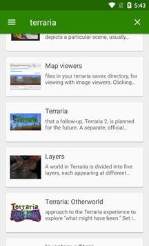 Official Terraria Wiki apk screenshot