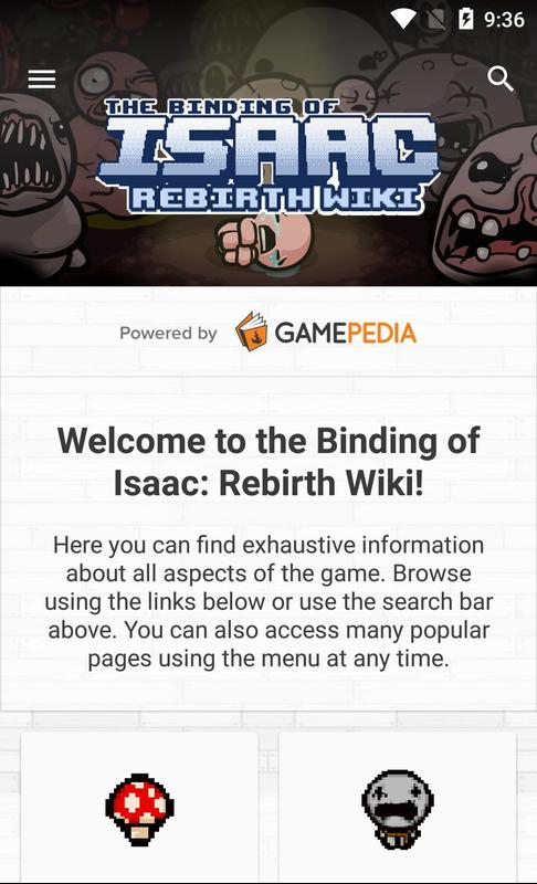 the binding of isaac rebirth android apk download