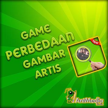 Game Perbedaan Gambar Artis poster